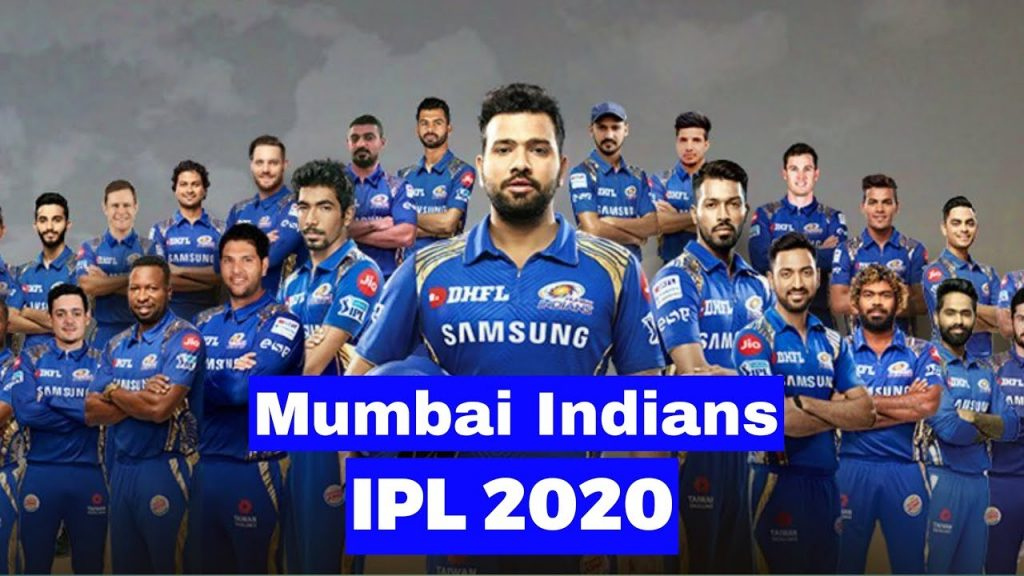 Mumbai Indians Team 2020