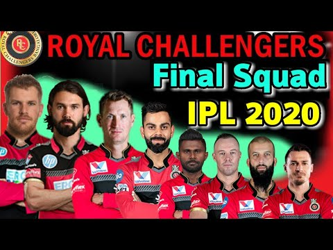 royal challengers bangalore players 2020